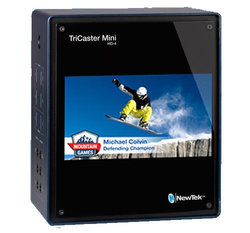 TriCaster Mini HD-4i